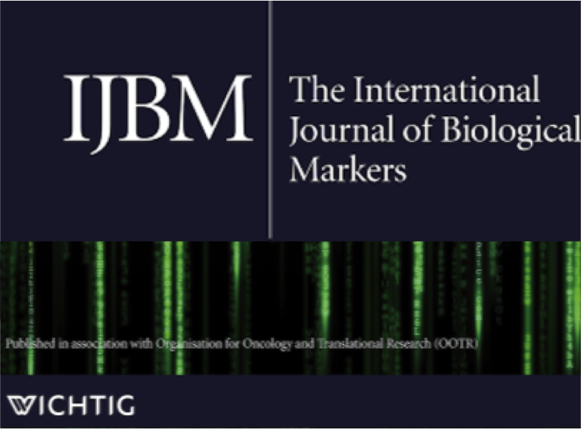 The International Journal of Biological Markers Logo