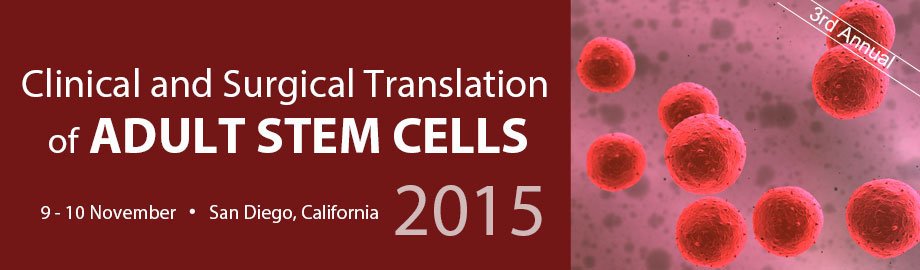 Clinical & Surgical Translation of Adult Stem Cells