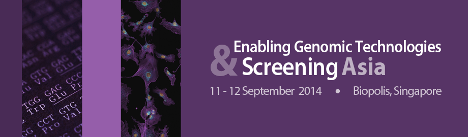 Enabling Genomic Technologies and Screening Asia 2014