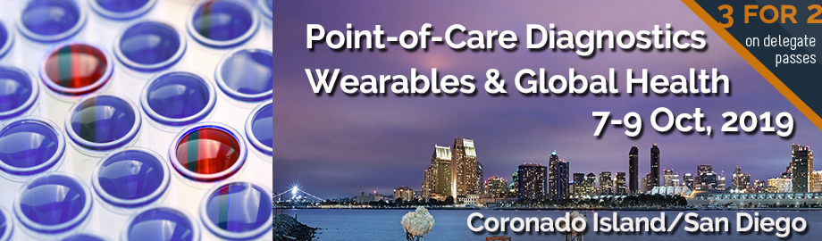 Point-of-Care Diagnostics, Wearables & Global Health 2019