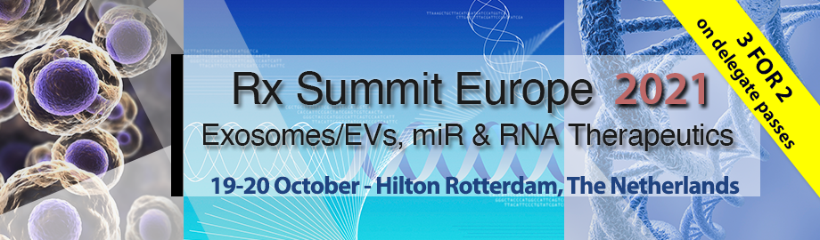 Rx Summit Europe 2021: EV, microRNA & RNA Therapeutics