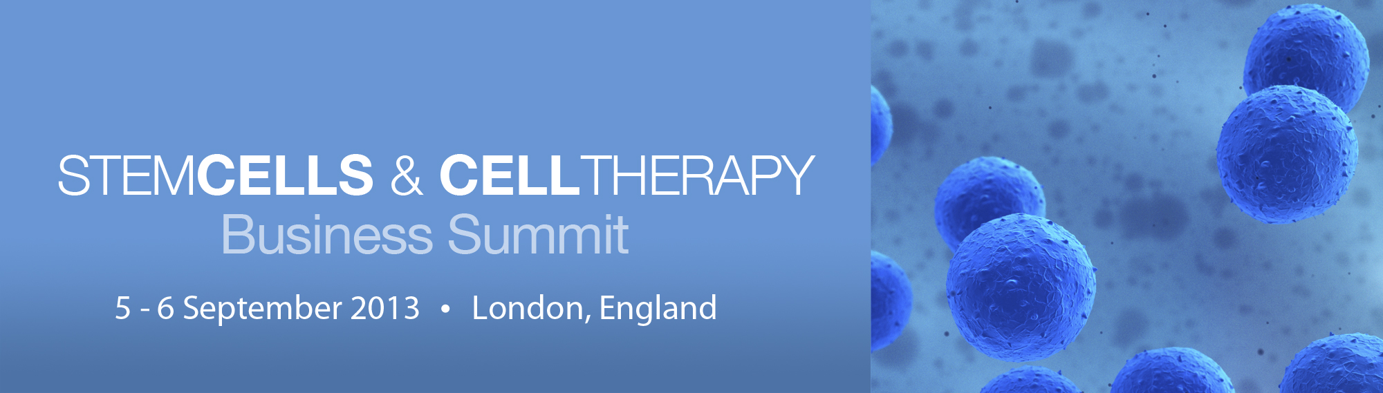 Stem Cells & Cell Therapy Summit