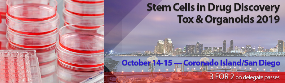 Stem Cells in Drug Discovery Tox & Organoids 2019