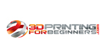 3D Printing For Beginners  Logo