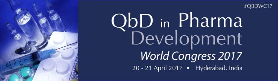 QbD in Pharma Development World Congress 2017